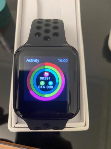 Smartwatch xWatch 2.0 impermeabile per piscina, fitness e sport. Contapassi e battiti, controllo pressione sanguigna e funzione sonno photo review