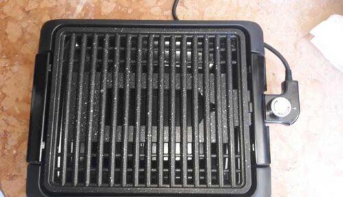 Griglia Elettrica per cucinare in casa Carne e Verdure in maniera veloce e senza odori photo review